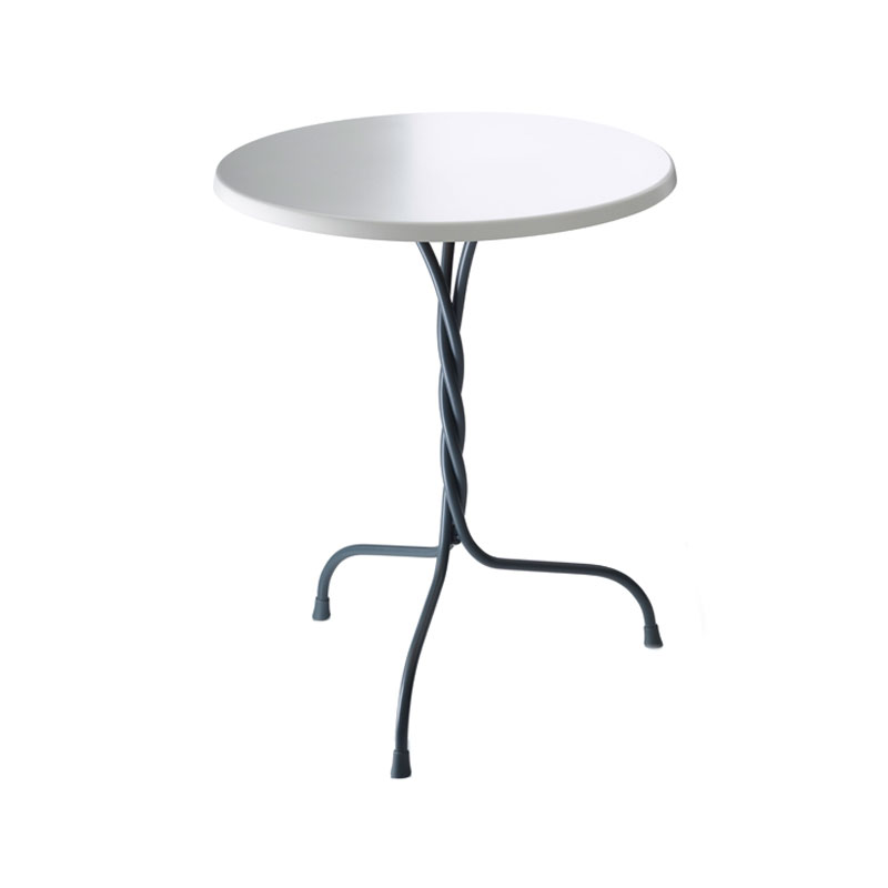 Magis Vigna Ø60cm Round Cafe Dining Table by Martino Gamper Olson and Baker - Designer & Contemporary Sofas, Furniture - Olson and Baker showcases original designs from authentic, designer brands. Buy contemporary furniture, lighting, storage, sofas & chairs at Olson + Baker.