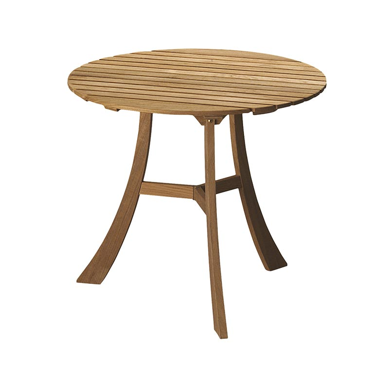 Skagerak Vendia Ø75cm Round Dining Table by Mogens Holmriis Olson and Baker - Designer & Contemporary Sofas, Furniture - Olson and Baker showcases original designs from authentic, designer brands. Buy contemporary furniture, lighting, storage, sofas & chairs at Olson + Baker.