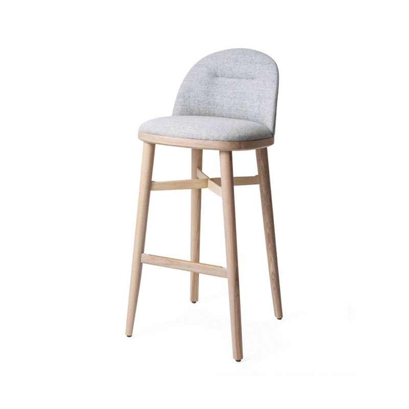 Stellar Works Bund High Bar Stool by Neri & Hu Olson and Baker - Designer & Contemporary Sofas, Furniture - Olson and Baker showcases original designs from authentic, designer brands. Buy contemporary furniture, lighting, storage, sofas & chairs at Olson + Baker.