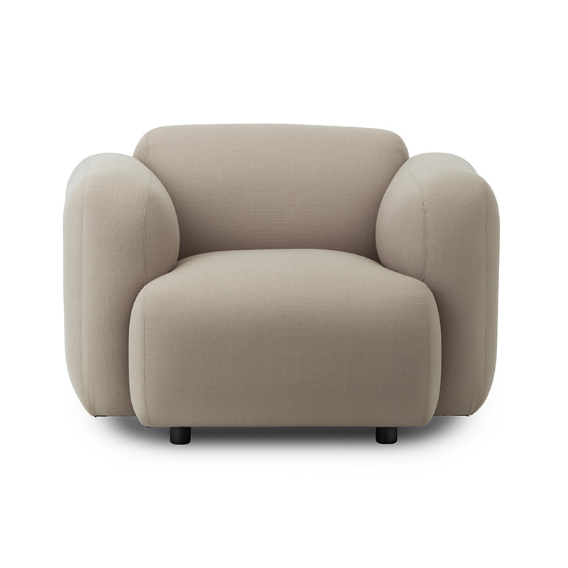 Normann Copenhagen Swell Armchair by Jonas Wagnell Olson and Baker - Designer & Contemporary Sofas, Furniture - Olson and Baker showcases original designs from authentic, designer brands. Buy contemporary furniture, lighting, storage, sofas & chairs at Olson + Baker.