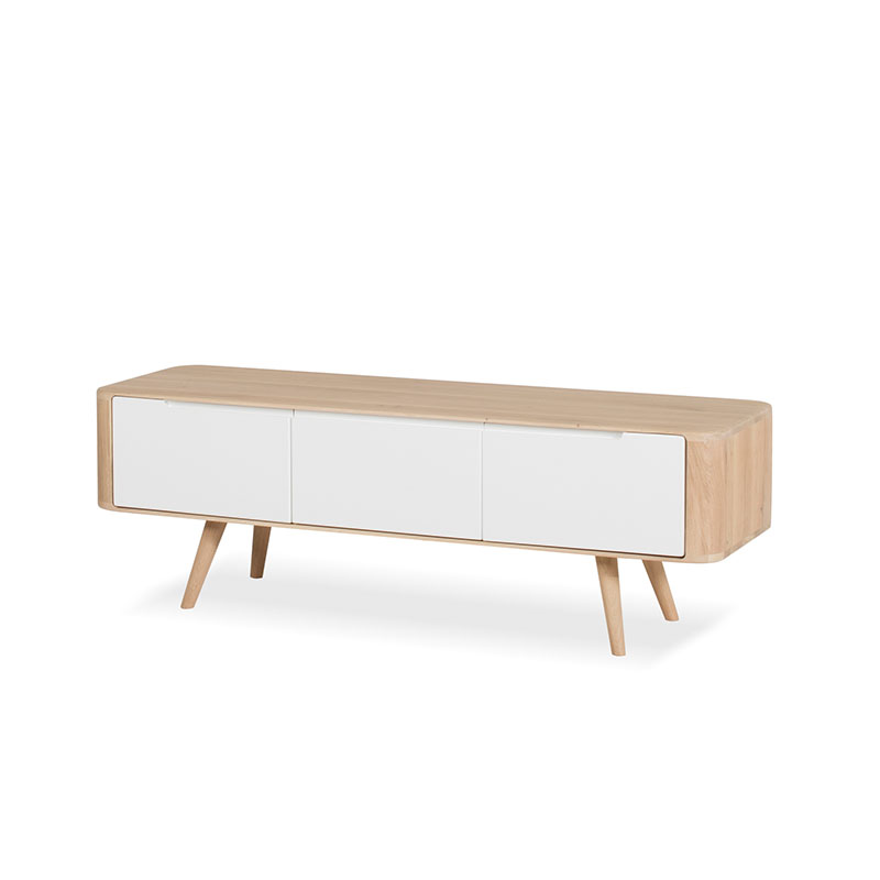 Gazzda Ena TV Sideboard by Salih Teskeredzic Olson and Baker - Designer & Contemporary Sofas, Furniture - Olson and Baker showcases original designs from authentic, designer brands. Buy contemporary furniture, lighting, storage, sofas & chairs at Olson + Baker.